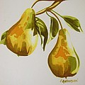 Golden Pears by Emmanuel Anderson