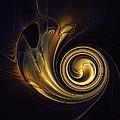 Golden Spiral by Amanda Moore