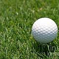 Golf Ball by Henrik Lehnerer