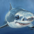 Great White by Terry Lewey
