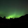 Green Aurora Above Kincolith River by Yuichi Takasaka