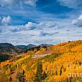 Guardsman Pass In The Fall by Ben Haslam
