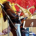 Harjo On Sax by James Knights