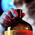 Hazardous Chemical by Tek Image