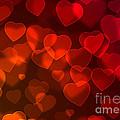 Hearts Background by Carlos Caetano