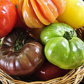 Heirloom Tomatoes by Elena Elisseeva
