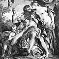 Hercules And Omphale by Granger