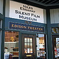 Historic Niles District In California Near Fremont . Niles Essanay Silent Film Museum Edison Theater by Wingsdomain Art and Photography