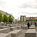 Holocaust Memorial - Berlin by Jon Berghoff