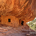 House On Fire Anasazi Indian Ruins by Gary Whitton