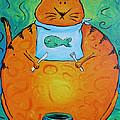 Hungry Cat by Jennifer Alvarez