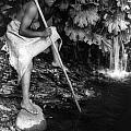 Hupa Fisherman, C1923 by Granger
