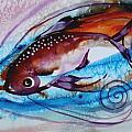 Hurricane Fish 28 by J Vincent Scarpace