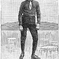 Ice Skater, 1880 by Granger