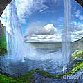 Iceland Waterfall Seljalandsfoss 03 by Gregory Dyer