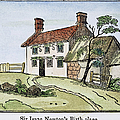 Isaac Newton Birthplace by Granger
