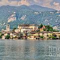 Island San Giulio by Mats Silvan