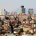 Istanbul Cityscape by Artur Bogacki
