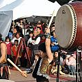 Japanese Drummers Perform In Kaohsiung Taiwan by Yali Shi