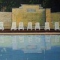 Jekyll Island Hotel Pool by John Cecil Smith