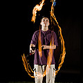 Juggling Fire by Ted Kinsman