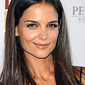 Katie Holmes Wearing A Jennifer Meyer by Everett