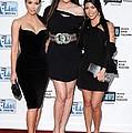 Kim Kardashian, Khloe Kardashian by Everett