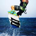 Kitesurfer by Stelios Kleanthous