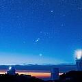 Kitt Peak National Observatory At Night by David Nunuk