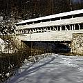 Knox Covered Bridge by Sally Weigand