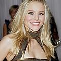 Kristen Bell Wearing An Etro Dress by Everett