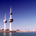 Kuwait Towers by Floyd Menezes