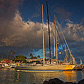 Lahaina Harbor by James Roemmling