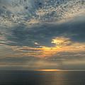 Lake Michigan Sunset by Dean Pennala