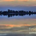 Lake Sunset by Jim And Emily Bush