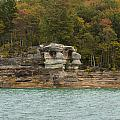 Lake Superior Pictured Rocks 49 by John Brueske