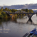 Last Light On Caveman Bridge by Mick Anderson