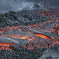 Lava Flow On The Flank Of Pacaya by Richard Roscoe