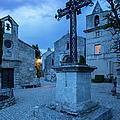 Les Baux Iron Cross by Brian Jannsen