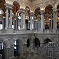 Library Of Congress - Washington D C by Christiane Schulze Art And Photography