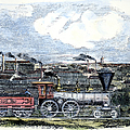 Locomotive Factory, C1855 by Granger