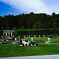 Longwood Gardens Fountain Garden by Sally Weigand