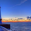 Ludington Michigan Lighthouse by Twenty Two North Photography