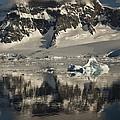 Luigi Peak Wiencke Island Antarctic by Colin Monteath