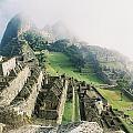 Machu Picchu In The Fog by Nimmi Solomon