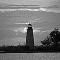 Madisonville Lighthouse Sunset by Luana K Perez