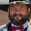 Major General L. L. Lomax Portrayed By Dan L. Carr 150th Anniversary Of The American Civil War by Jonathan Whichard