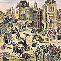 Massacre Of Huguenots by Granger