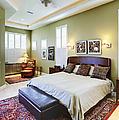 Master Bedroom by Skip Nall
