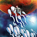 Medical Nanorobot On Sperm Cell by Victor Habbick Visions
